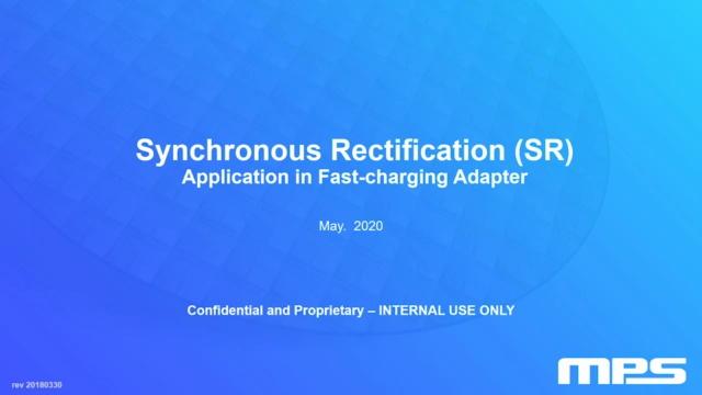 1- 同步整流芯片在高效小型化充电器中的应用研究