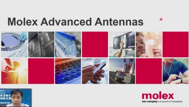 1- Molex Antenna/MID Parts in  Vehicle