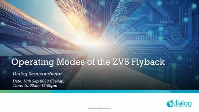 1- ZVS 反激变换器的基本工作原理